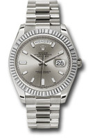 Rolex Watches: Day-Date 40 White Gold  228239 sbdp