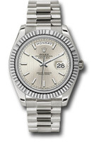 Rolex Watches: Day-Date 40 White Gold 228239 ssmip