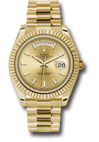 Rolex Watches: Day-Date 40 Yellow Gold 228238 chip