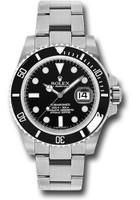 Rolex Watches: Submariner Steel 116610LN