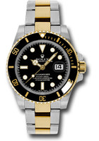Rolex Watches: Submariner Steel and Gold  116613 bk