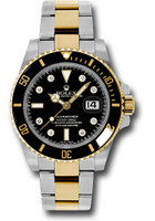 Rolex Watches: Submariner Steel and Gold 116613 bkd