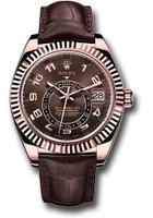 Rolex Watches: Sky-Dweller Everose Gold 326135