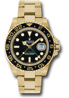 Rolex Watches: GMT-Master II Yellow Gold 116718 bk