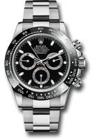 Rolex Watches: Daytona Steel 116500LN Black