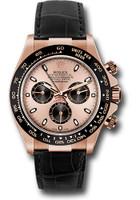 Rolex Watches: Daytona Everose Gold - Leather Strap 116515LN pbk