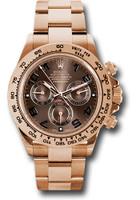 Rolex Watches: Daytona Everose Gold - Bracelet 116505 choc