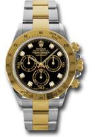 Rolex Watches: Daytona Steel and Gold  116523 bkd