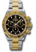 Rolex Watches: Daytona Steel and Gold  116523 bks