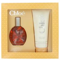 CHLOE by Chloe Gift Set -- 3 oz Eau De Toilette Spray + 6.8 oz Body Lotion