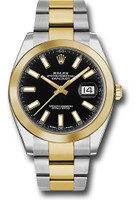 Rolex Watches: Datejust 41 Steel and Yellow Gold - Smooth Bezel - Oyster 126303 bkio