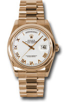 Rolex Watches: Day-Date President Pink Gold - Domed Bezel - President  118205 wrp