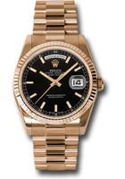 Rolex Watches: Day-Date President Pink Gold - Fluted Bezel - President 118235 bksp
