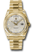 Rolex Watches: Day-Date President Yellow Gold - Fluted Bezel - President 118238 sip