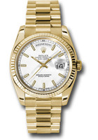 Rolex Watches:Day-Date President Yellow Gold - Fluted Bezel - President  118238 wsp