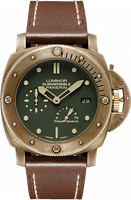 PANERAI LIMITED LUMINOR SUBMERSIBLE 1950 3 DAYS POWER RESERVE AUTOMATIC BRONZO PAM00507