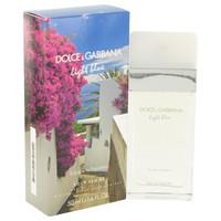 Light Blue Escape to Panarea by Dolce & Gabbana Eau De Toilette Spray (Tester) 3.3 oz