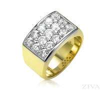 Ziva Men's Diamond Cluster Ring