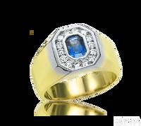 Ziva Sapphire Ring for Men