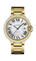 Cartier Ballon Bleu Large (YG Diamonds/Silver/YG)
