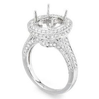 1.14 Ct Diamond Engagement Ring Setting