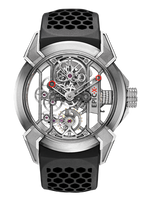 Jacob & Co Epic X Titanium Manaul Men's Skeleton Watch 550.100.20.NS.OY.4NS