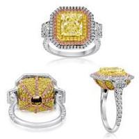 5.26 Ct Fancy Diamond Ring