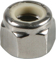 1/2-13 Stainless Nylon Lock Nut (25 Count) | Jamieson Machine Industrial Supply Company