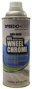 Wheel Chrome Silver ready to spray Leafing Aluminum Base Coat, Pint, SMR-ARGC