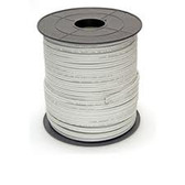 RG59-500FT RG59 Siamese Solid Coaxial Cable + 18/2 (18AWG 2C) Power, White, 500 ft, Spool