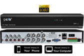 True Full HD-TVI/AHD/IP/960H Hybrid 8CH 1080P, plus 4CH 4MP IP, 1080P HDMI Output,  P2P Network Remote Viewing