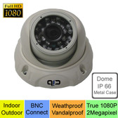 True Full HD-TVI 1080P 2.1 MegaPixel Analog Vandal Dome Color Day Night Camera --- UTV80P03W