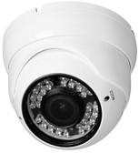 True Full HD-TVI 2.8-12mm Vari-Focal 1080P 2.1 MegaPixel Vandal Dome Color Day Night Camera