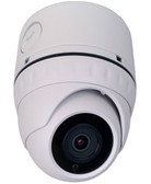 CIB 4K Megapixel (3820 x 2160) H264/H265 POE IP67 Vandal Dome IP Security Color Camera, Wide Lens 2.8mm with Junction Box