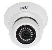True Full HD-TVI 5 MegaPixel Analog Vandal Dome Color Day Night Camera --- CJ5M03W
