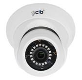 True Full HD-TVI 5 MegaPixel Analog Vandal Dome Color Day Night Camera --- CJ5M03W