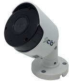 CIB 8 Megapixel 4K  H264/H265 POE IP67 Vandal Bullet IP Security Color Camera, Wide Lens 2.8mm with Audio
