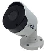 CIB 8 Megapixel 4K  H264/H265 POE IP67 Vandal Bullet IP Security Color Camera, Wide Lens 2.8mm with Audio