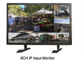 """IntekBox 21"""" HD 1080P IP Decoding Monitor Connect to Up to 8 IP Cameras"""