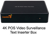 HD 4K POS Video Text Inserter Box