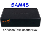 SAM4S Cash Register HD 4K POS Video Text Inserter Box