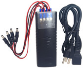 CCTV 12V DC 2000mA Power Adapter Transformer  4 Output