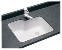 Swanstone US-2215 Undermount Single Bowl - Solid Color