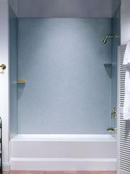 Swanstone SS-72-3 Bathtub 3-Panel Wall Kit - Aggregate Color