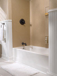 Swanstone SS-60-5 Bathtub 5-Panel Wall Kit - Solid Color