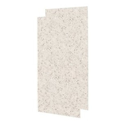 Swanstone SS-4896-2 Double Panel Shower Wall-Aggregate Color