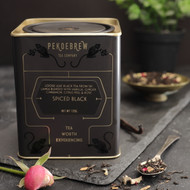 Gorgeous loose leaf black tea from Sri Lanka blended with Vanilla, Ginger, Cinnamon, Citrus Peel and Rose. PekoeBrew Tea Company