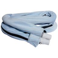 Comfort CPAP Tubing Cover with Zipper - Velour, Light Blue
