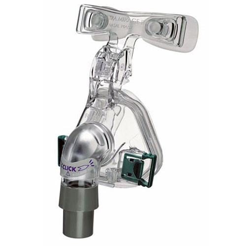 ResMed Ultra Mirage II Nasal Mask Frame System With Cushion – Without Headgear