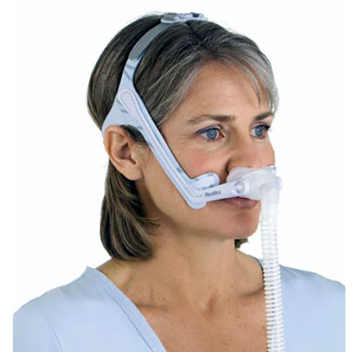 ResMed Swift LT For Her Nasal Pillows Complete System- With Headgear